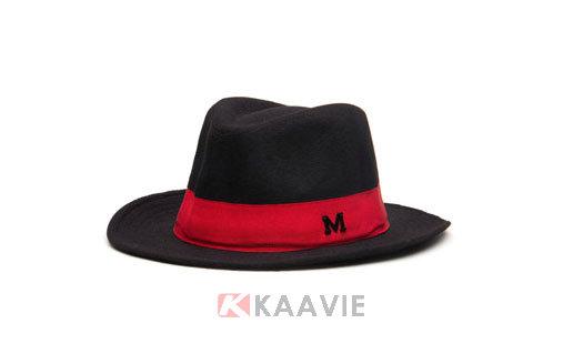 女款时装定型毡帽定做