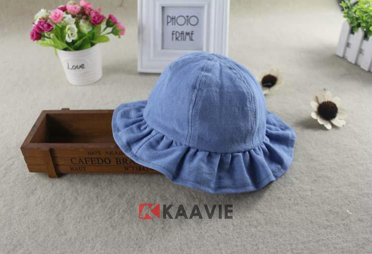 儿童渔夫帽边帽