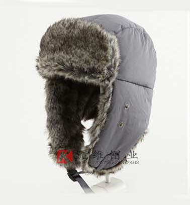 帽子定制 雷锋帽 凯维帽业-时尚简约男孩口罩风雪帽