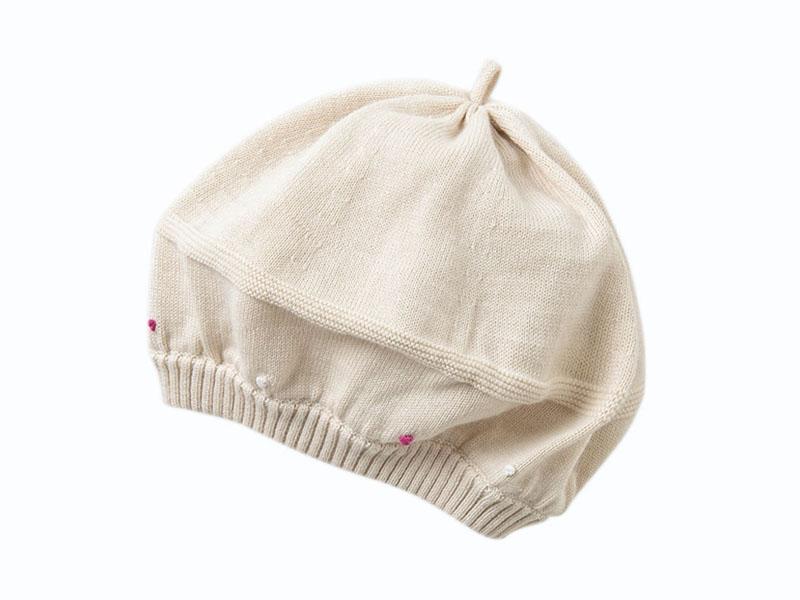 凯维帽业-女童冬天针织帽ZJ001