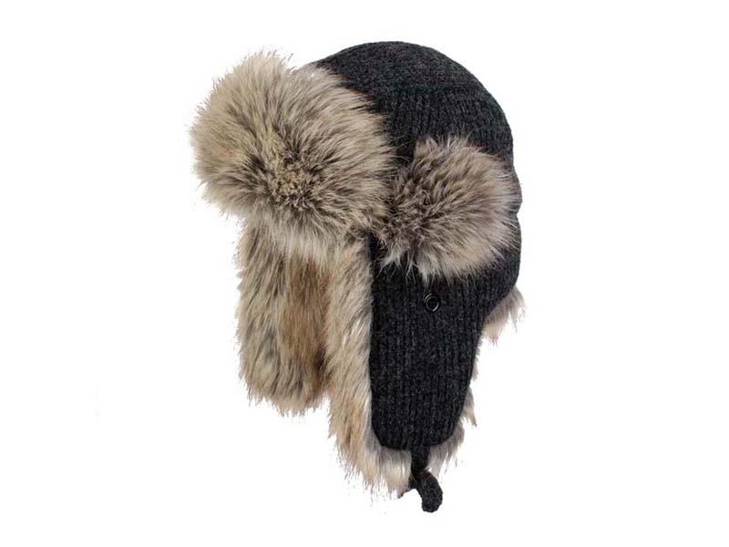 凯维帽业-纯色针织雷锋帽定做-LF021