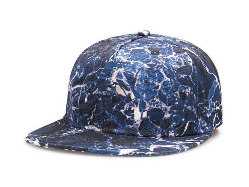 凯维帽业-随机图案平板帽定制-PJ022