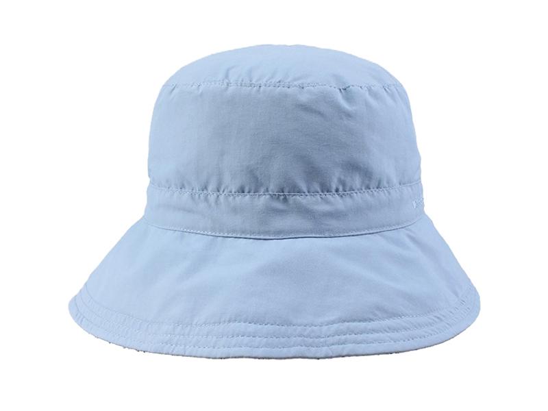 凯维帽业-纯棉纯色简约遮阳渔夫边帽桶帽 春夏定做-YM069