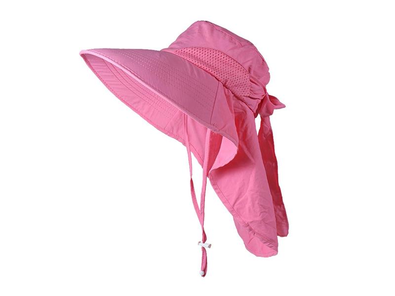 凯维帽业-女士春夏透气户外丛林遮阳大边渔夫帽定做-YT078