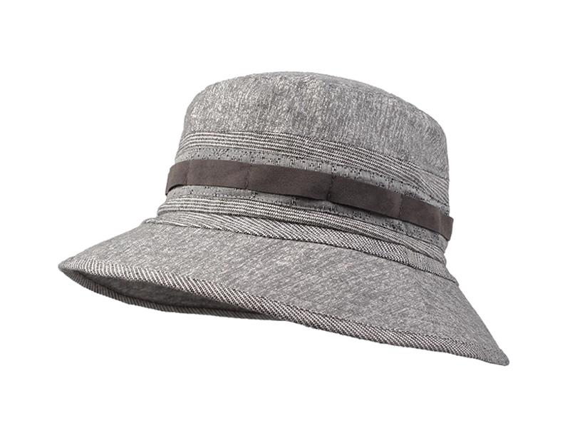 凯维帽业-简约条纹户外遮阳渔夫边帽 春夏定做-YM091