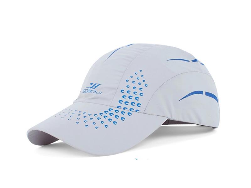 凯维帽业-纯色高端印花户外运动棒球帽HT046