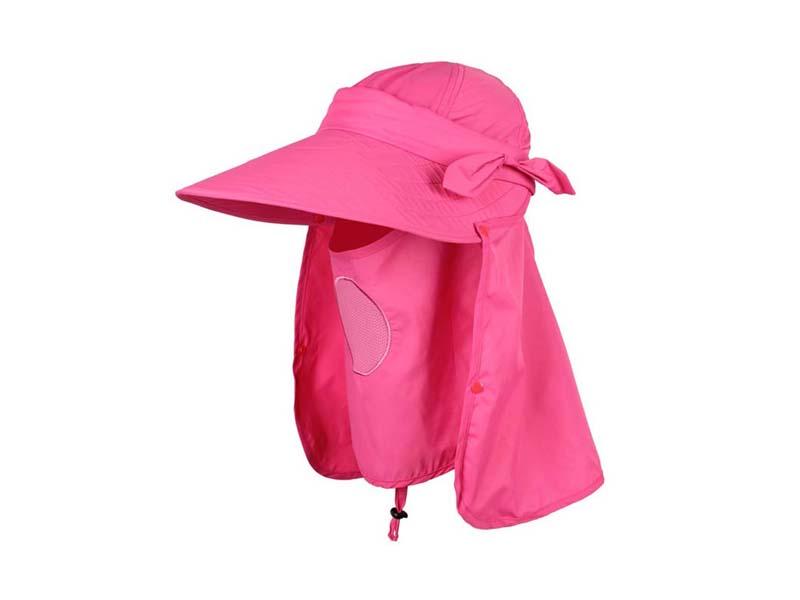 凯维帽业-春夏户外丛林遮阳口罩披肩帽 YT139