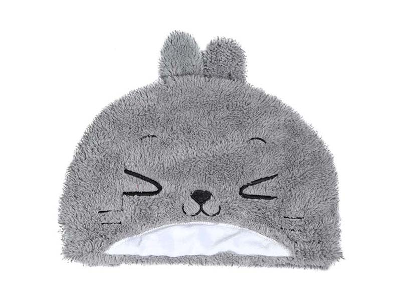 凯维帽业-小兔子儿童套头毛毛帽子RH146