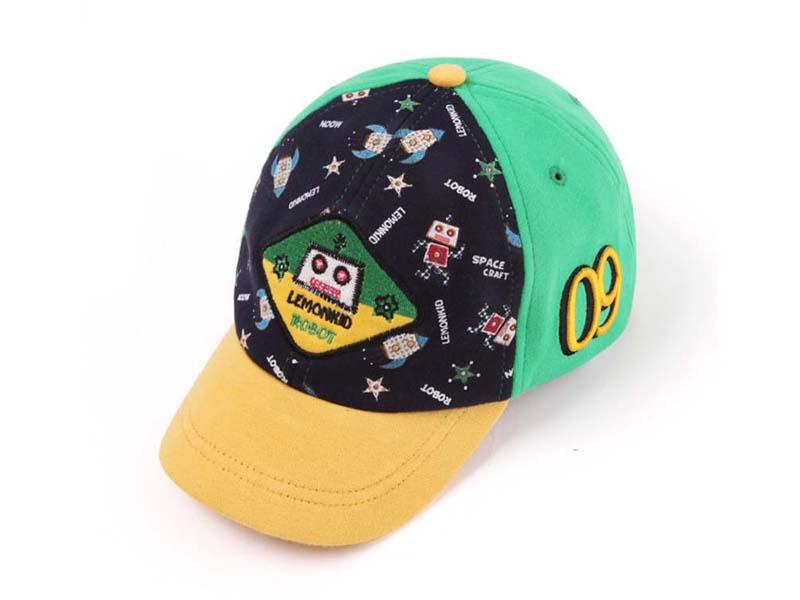 凯维帽业-儿童卡通太空棒球帽定做RM096