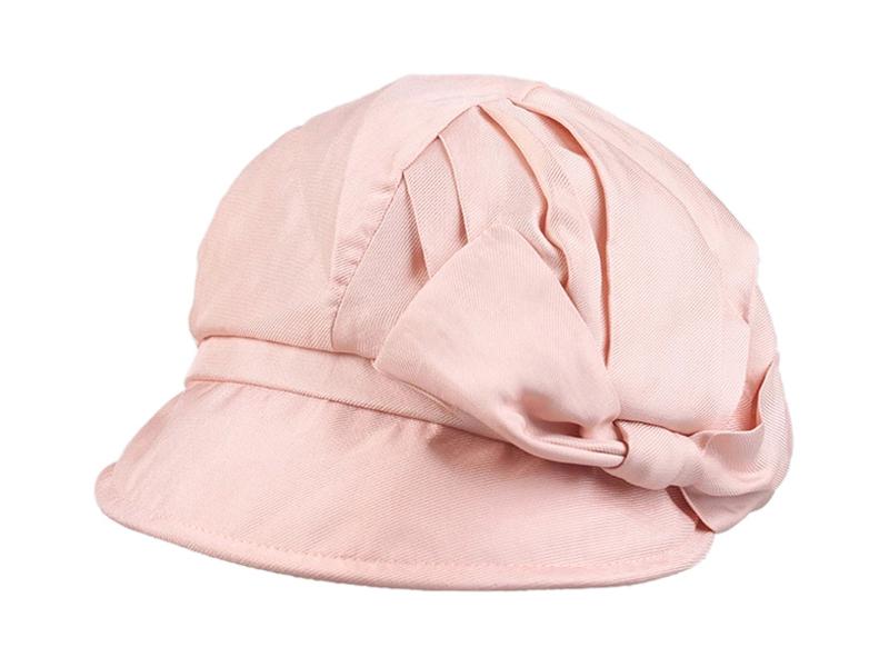 凯维帽业-粉色蝴蝶时装帽 女士 夏季 小清新款
