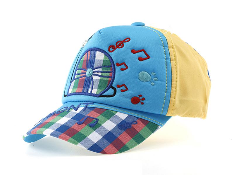 凯维帽业-新款儿童音乐符号时尚棒球帽RM200