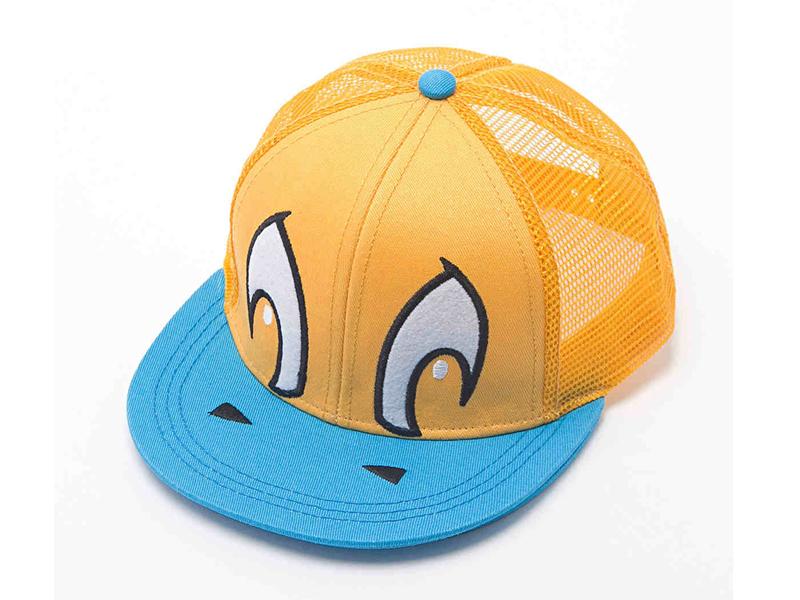 凯维帽业-撞色拼接儿童平板帽 网帽 RM228