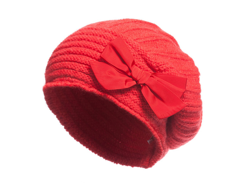 凯维帽业-儿童时装针织蓓蕾帽 RM322
