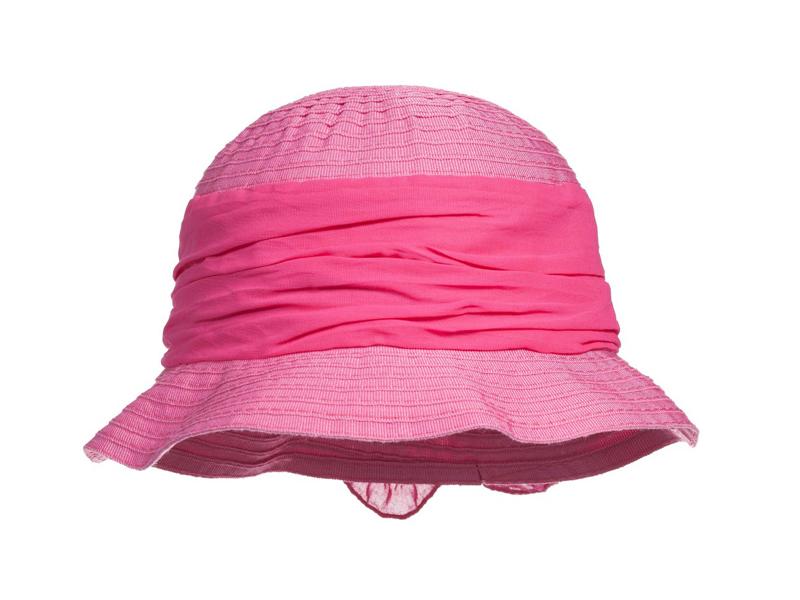 凯维帽业-大蝴蝶结丝带条纹纯色渔夫帽 边帽 儿童 RM325