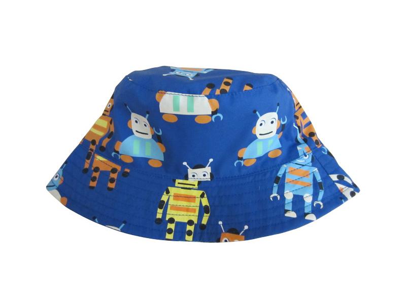 凯维帽业-卡通公仔印花儿童夏季遮阳渔夫边帽 RM453