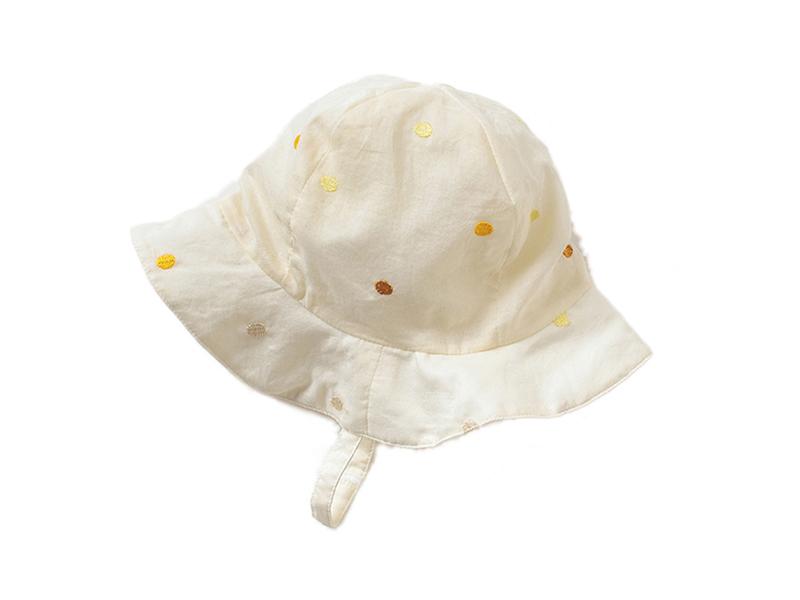 凯维帽业-小清新款纯色婴儿小边帽AM071