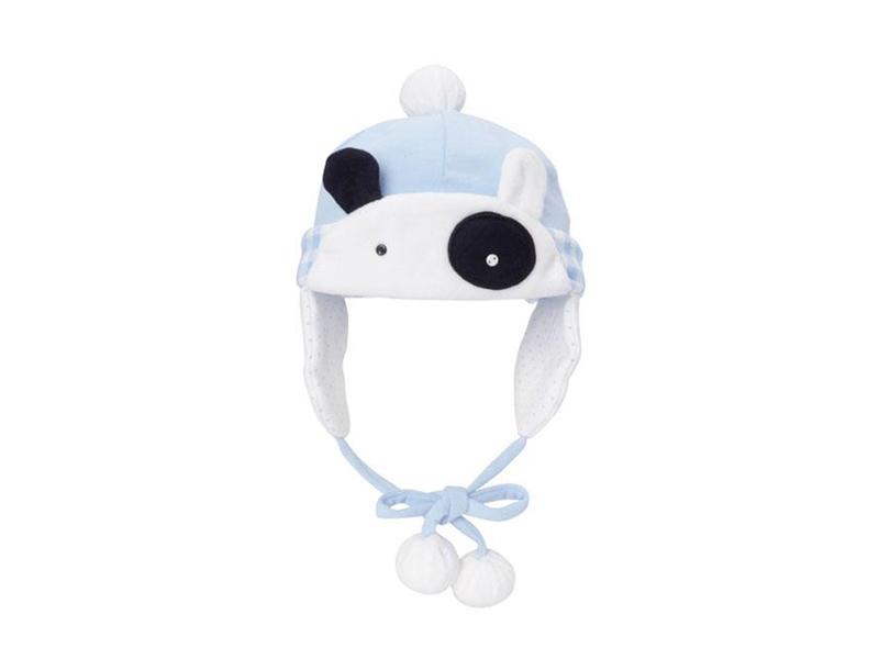 凯维帽业-婴儿可爱卡通绣花风雪帽 AM076
