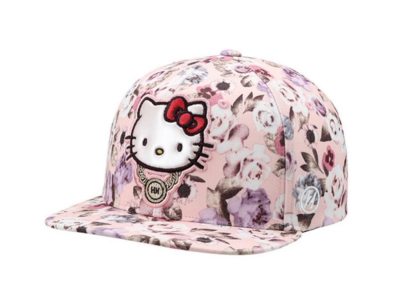 凯维帽业-Hello Kitty绣花儿童平沿帽 RM485