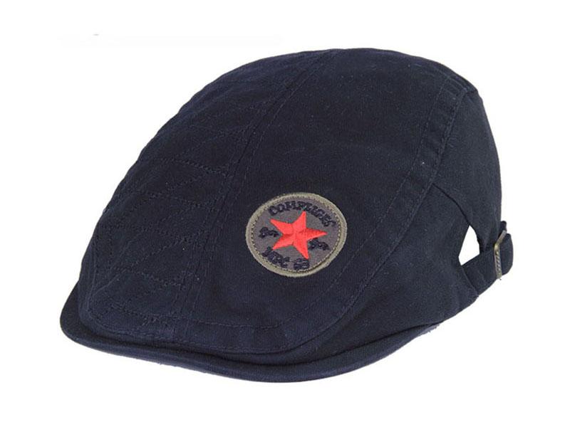 凯维帽业-单色简约新款鸭舌帽 EM099