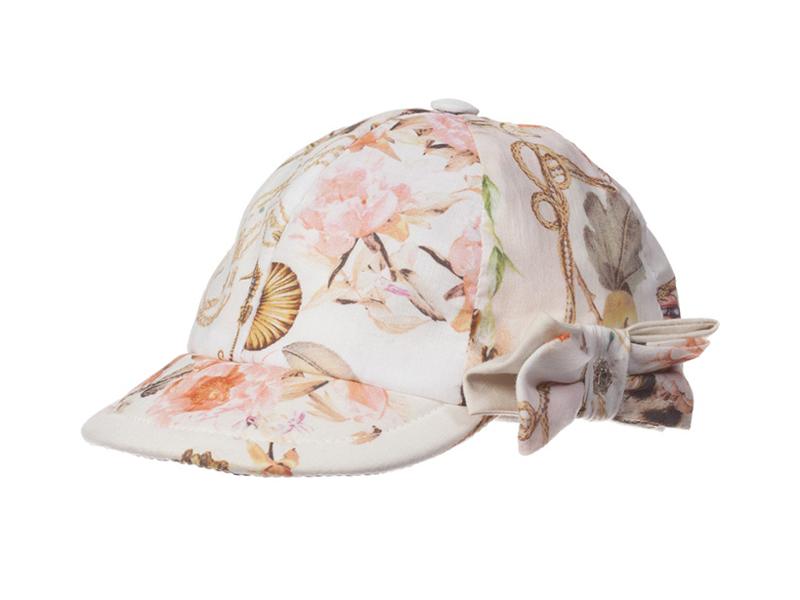 凯维帽业-新款蝴蝶结印花儿童时装帽RT327