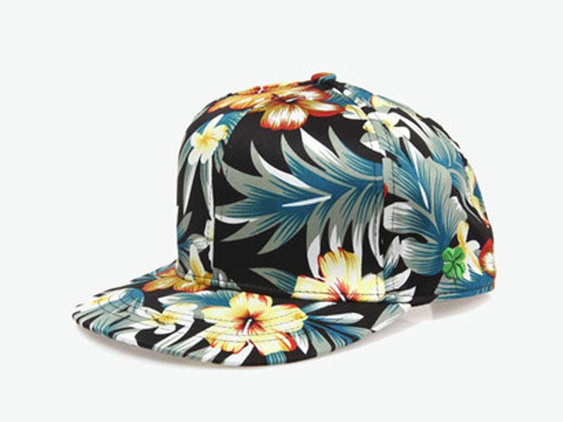凯维帽业-2015年新款 女士印花棒球帽BM352