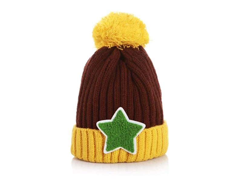 凯维帽业-女士可爱加厚针织帽定做ZM085