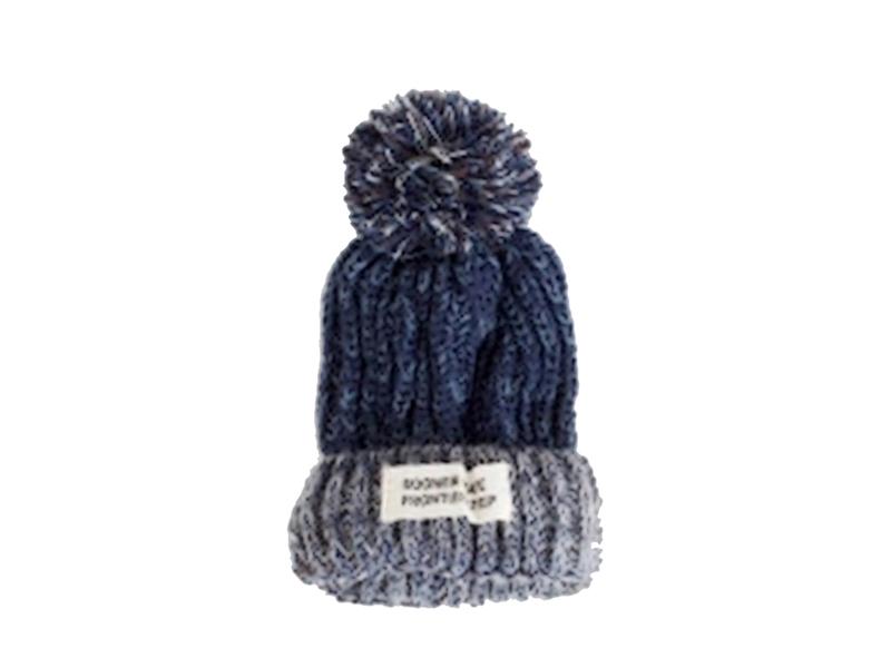 凯维帽业-时尚韩版女款针织帽定做ZM100