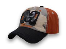 凯维帽业-撞色水洗棒球帽BM015