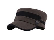 凯维帽业-拼色军帽JM010