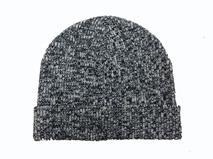 黑白视频体育直播-花灰混色针织帽ZM006