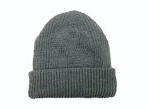 凯维帽业-纯色折边针织帽ZM007