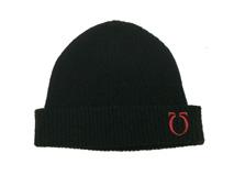 凯维帽业-黑色男女针织帽-ZM008