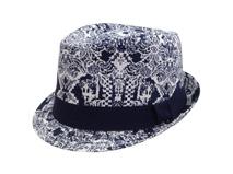 凯维帽业-提花时尚定型礼帽定做工厂 -CZ010