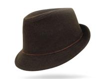 凯维帽业-女款羊毛定型礼帽定做 -DW014