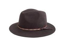 凯维帽业-民族风100%羊毛定型礼帽定做-DW018