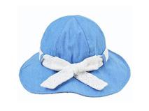 凯维帽业-牛仔女士儿童小边帽定做-YM031