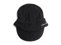 凯维帽业-遮阳保暖两用型冬日保暖针织帽定做-ZM015
