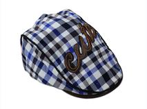 凯维帽业-格子鸭舌帽 -EM003