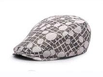 凯维帽业-针织布儿童女士鸭舌帽-EM008