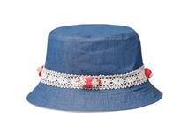 凯维帽业-复古女士儿童蕾丝边小边帽-YM036