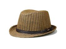 凯维帽业-高档编织草帽定做-CZ013