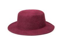 凯维帽业-100%羊毛定型礼帽女款定做-DW020