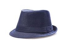 凯维帽业-纯色男士定型礼帽定做 -DT022