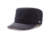 凯维帽业-麦呢男女款平顶帽定做-JW022