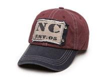 凯维帽业-洗水做旧棒球帽六页帽定做-BM027