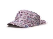 凯维帽业-多功能空顶帽 碎花新款定做-SM006