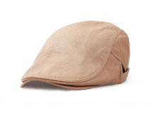 凯维帽业-纯色简约优雅急帽鸭舌帽定做-EM010