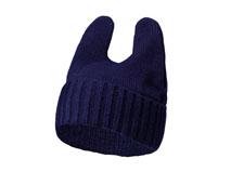 凯维帽业-兔儿毛线帽针织帽定做 -ZM023