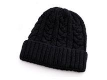凯维帽业-大麻花针织帽定做 -ZM024