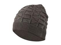 凯维帽业-抽象菱形针织毛线帽定做-ZM028